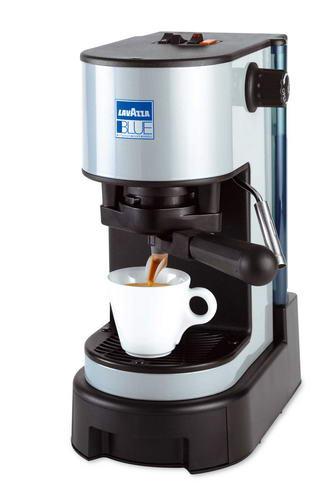 Macchina del caff a cialde lavazza blu con lancia a - Macchina caffe lavazza in black ...